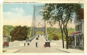 Approach to Rondout Bridge