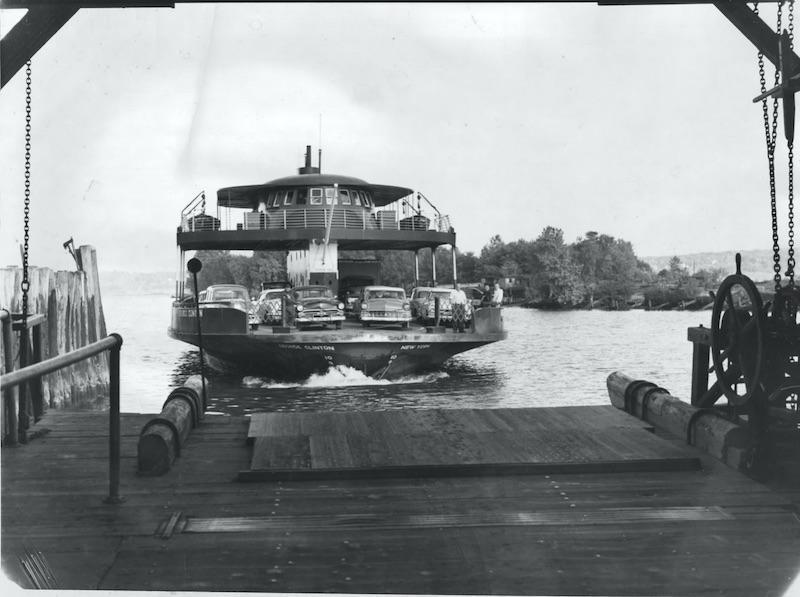 Kingston-Rhinecliff ferry 1950