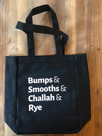 Reher Center Tote Bag with slogan