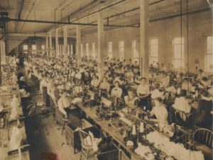 Shirt Factory Workers