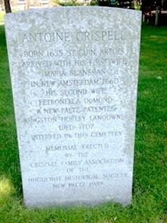Antoine Crispell gravestone