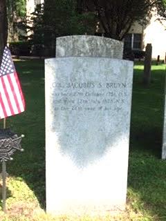 Jacobus Bruyn gravestone