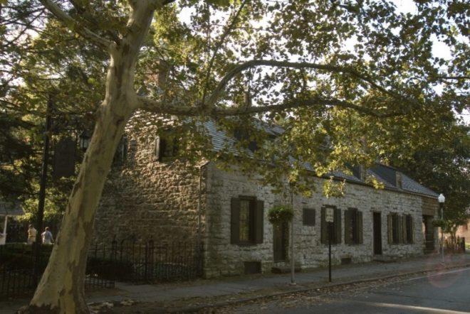 The 1777 NY Senate House in Kingston, NY